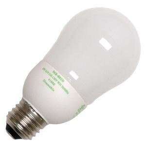 A19 WH 4 Cold Cathode Screw Base Compact Fluorescent Light Bulb Home