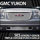 2012 GMC Yukon SES Chrome Punch Grille (Top&Bottom) (Fits GMC Yukon