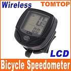 LCD Wireless Cycle Computer Bicycle Bike Meter Speedometer Odometer