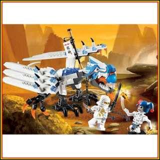 LEGO NINJAGO 2260 Ice Dragon Attack Masters of Spinjitzu Zane and