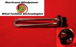 Wind Generator 24 volt 600 watt DC Water Heater Element