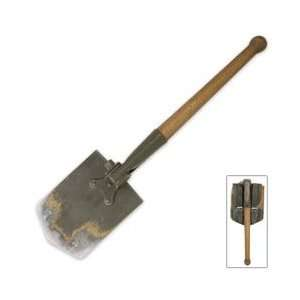 Military Surplus German Folding Shovel Patio, Lawn