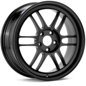 18 ENKEI RPF1 RIMS WHEELS BLACK 18x7.5 5x114.3 +48