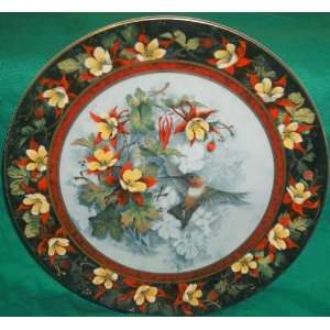 Franklin Mint Royal Doulton Rufous Hummingbird Plate