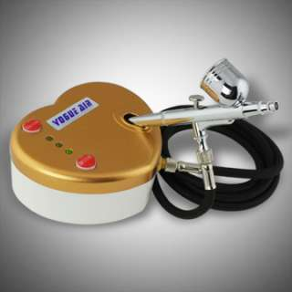 New Make Up Airbrush Kit Air Compressor Dual Action Spray Tattoo Nail