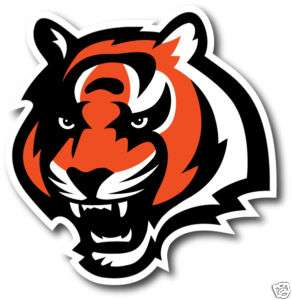 CINCINNATI BENGALS WALL UP DECAL (compare to Fatheads)