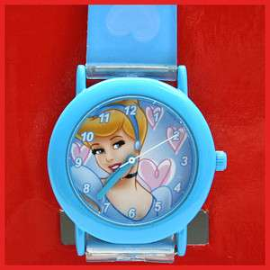 Disney Princess Cinderella Wrist Watch  Kids Jelly Band
