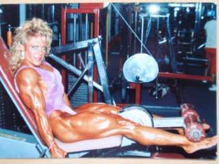 TOMMIE MOREAU female muscle bodybuilding photos WPW