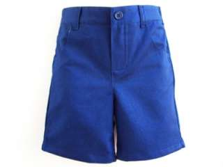 NEW Boys BLUE SAIL Shorts Easter Vest Clothes 24M NWT