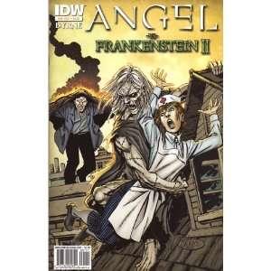 Angel vs Frankenstein II #1 John Byrne Books