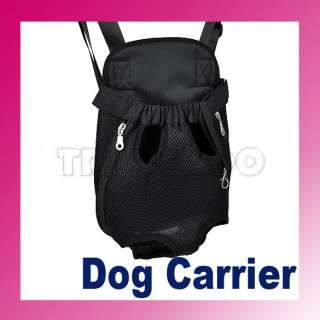 New Nylon Pet Dog Carrier Legs Out Front Style Backpack Net Bag Any