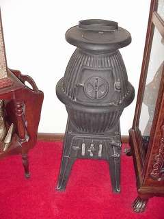 Antique Pot Belly Stove by Cannon No. 328   Original