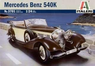 ITALERI  Mercedes Benz 540K  124 Scale 3701