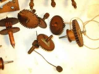 Wooden Works Clock Movement Eli Terry   Clock Parts