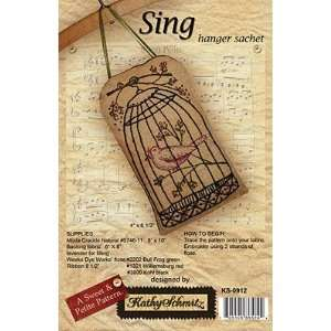 Sing (Sweet & Petite)   Embroidery Pattern: Arts, Crafts