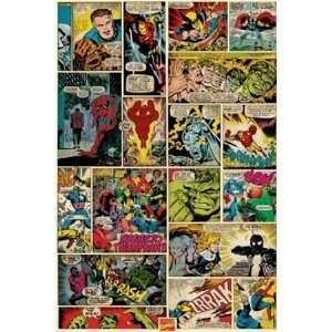 Marvel Avengers Fantastic Four Wolverine Iron Man Hulk
