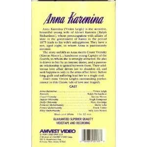 Anna Karenina [VHS] (1948)