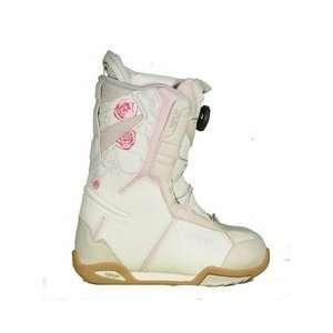 Lamar Power BOA Snowboard Boots Kids Girls white pink Size