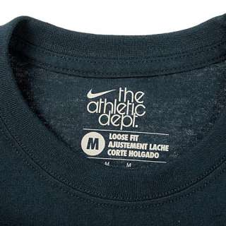 NIKE SWOOSH TEE MENS NAVY S/S T SHIRTS ALL SIZES ATHLE