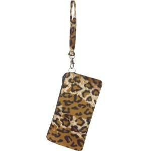 Cheetah Wristlet Handbag Purse Halloween Costume Accessory