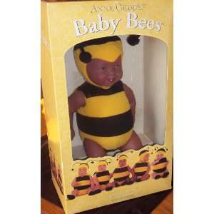 Anne Geddes 15 African American Baby Bees Doll: Toys & Games