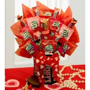 Candy Bouquet   A Gift for the Sweetie or Mother with a Sweet Tooth