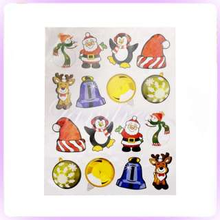 of 75pcs Christmas Theme Stickers wall window home decor party favour
