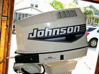 Johnson 90 HP Outboard Motor REBUILT Water Ready Boat Engine 115 150