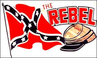 Rebel Cap Confederate Pride South USA 3x5 American Flag