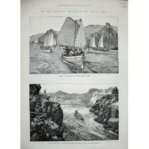 1884 River Nile War Whale Boats Bab El Kebir Sarras Men