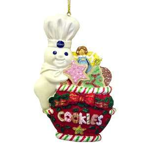 Pillsbury Doughboy Cookie Jar Christmas Ornament 4 Home