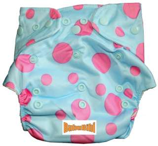 Bamboo Baby Cloth Diaper/Nappy OS Organic+Insert Math