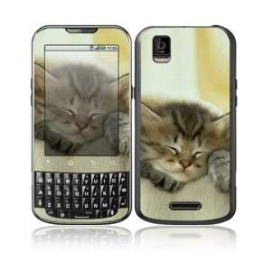 Animal Sleeping Kitty Design Decorative Skin Cover Decal Sticker for