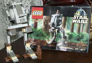 LEGO 7127 STAR WARS Imperial AT ST 100% complete
