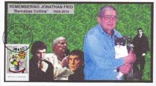 REMEMBERING JONATHAN FRID BARNABAS COLLINS DARK SHADOWS EVENT CVR #2