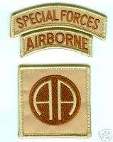 US ARMY 82ND ABN DIV AIRBORNE DIVISION 82ND BDG PATCH