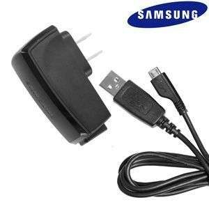 OEM Samsung Micro USB Travel Charger Adapter + Data Cable Acclaim