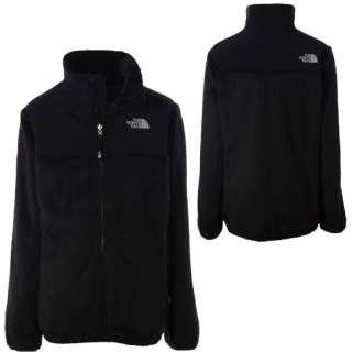 The North Face Denali Thermal Fleece Coat Soft Logo Jacket Black XXS 5