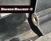 Davidson Fairing Bracket Repair Kit FLH FLHT Touring 89 12 FLHTC