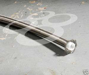 PTFE Braided Stainless Steel Oil Gas Line    8AN