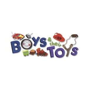 Title Wave Stickers   Boys & Their Toys: Arts, Crafts & Sewing