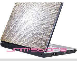 DIY Notebook Laptop Bling Rhinestone Crystal Sticker Skin Cover 13 14