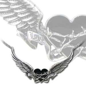 Alchemy Gothic Romance Tortured Tattoo Heart Angel Wing Love Hate