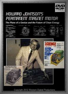Johnson Permanent Magnet Motor Plans Alternative Free Energy