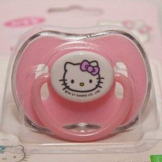 Sanrio Hello Kitty Baby Pacifier Pink for 6+ month (Comes