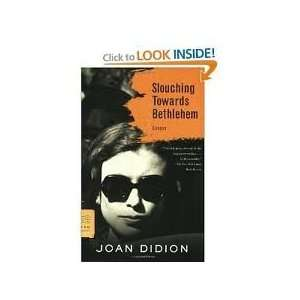Towards Bethlehem 1st (first) edition Text Only Joan Didion Books