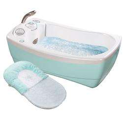 18033 LilLuxuries Whirlpool Bubbling Spa & Shower   Blue