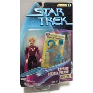 com CAPTAIN BEVERLY PICARD Star Trek The Next Generation Warp Factor