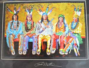 Native American Indian Art New John Balloue