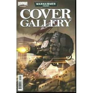 WARHAMMER 40K COVER GALLERY